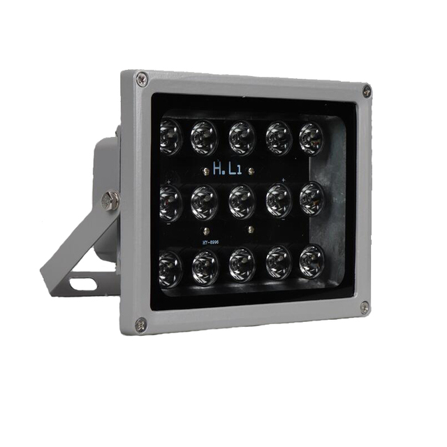 100m IR mesafe 15 Leds IR aydınlatıcı IR kızılötesi ışık LED güvenlik kamerası gece görüş IR için ışık doldurun CCTV güvenlik kamera