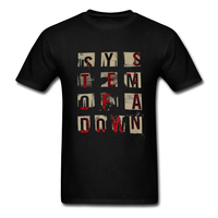 SYSTEM OF A DOWN Men S T Shirt S O A D Alternative Metal Band New