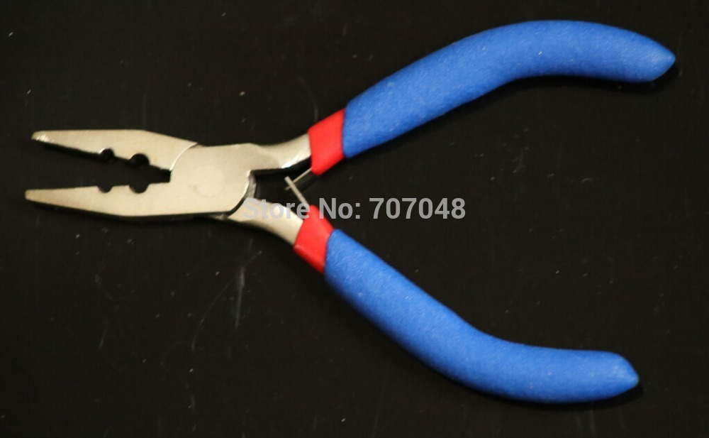 5 hair extension plier Heat Fusion Glue Keratin Bonding / Micro Rings Removal Pliers for Hair Extensions