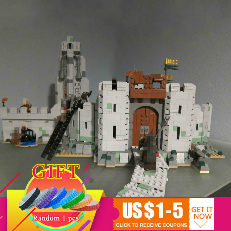 16013 1368Pcs The Lord of the Rings Series The Battle Of Helm' Deep set Compatible with 9474 Model Building Blocks toys pg931 the hobbit desolation of smaug 79018 the lonely mountain dol guldor battle building blocks educationa compatible with lpin