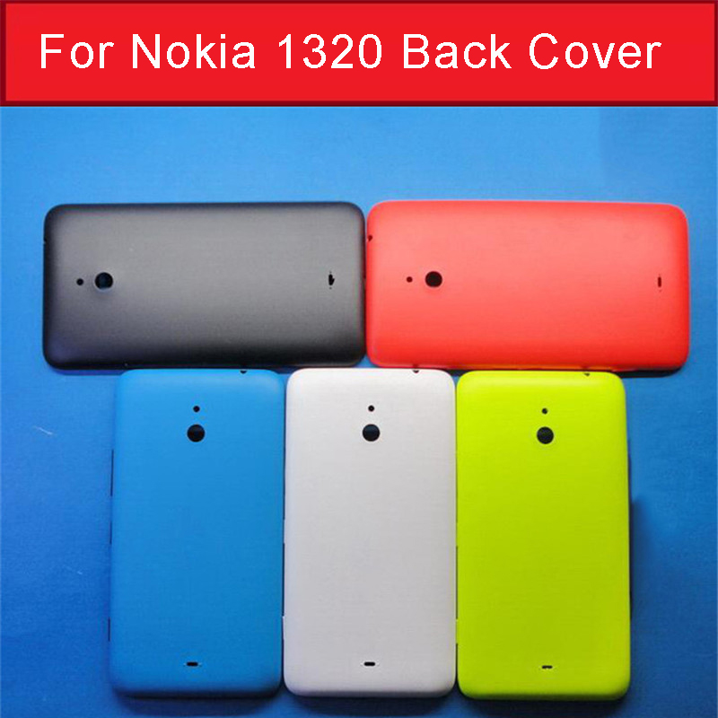 cheap for discount 33d3d 052dc Genuine Rear cover case for Nokia 1320 back battery door housing for  Microsoft Lumia 1320 back cover Case +1pcs screen film free