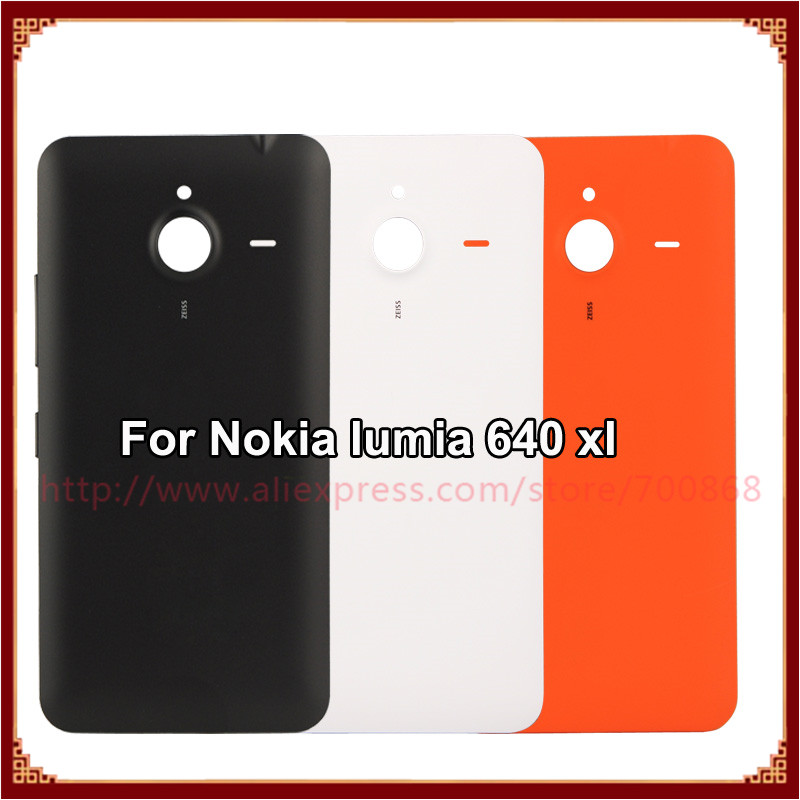 buy cheap 44d28 fdb49 US $5.75 |Back Cover For Microsoft lumia 640XL Original Housing Battery  Cover Case For Nokia lumia 640 XL-in Mobile Phone Housings from Cellphones  & ...