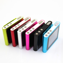 New Digital Slim 6th Clip MP3 MP4 Video Player 1.8 inch LCD Screen Clip Player With Free Stereo Headphone