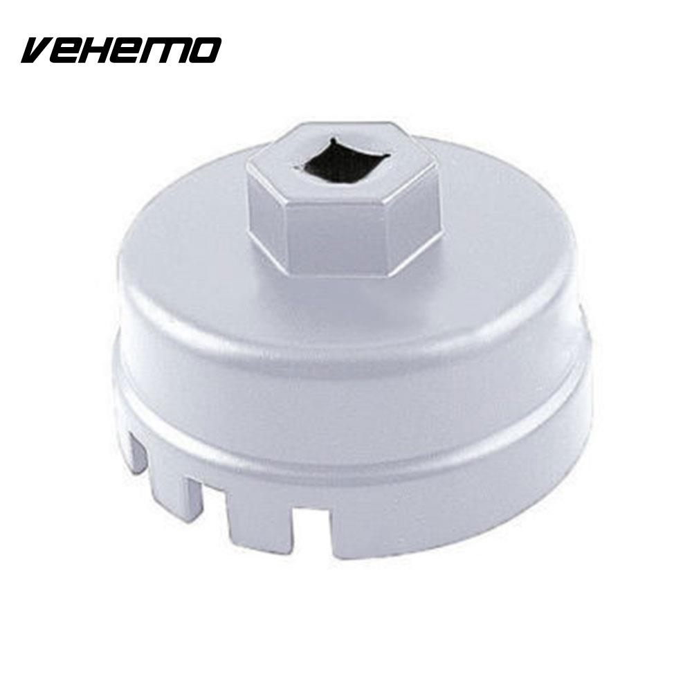 VEHEMO 64mm White Filter Wrench Oil Filter Cap Wrench Wrench Oil Filter Cap Professional Auto Wrench Professional Tools