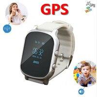 OLED Screen T58 Smart GPS WIFI Tracker Locator Anti Lost Watch For Kid Elder Child Student