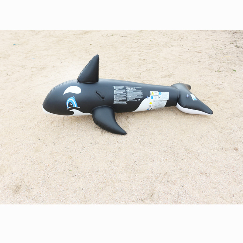 180x87x78cm inflatable animal whale rider seart kid water swimming pool toy summer beach play swim fun ring pool toy B40002