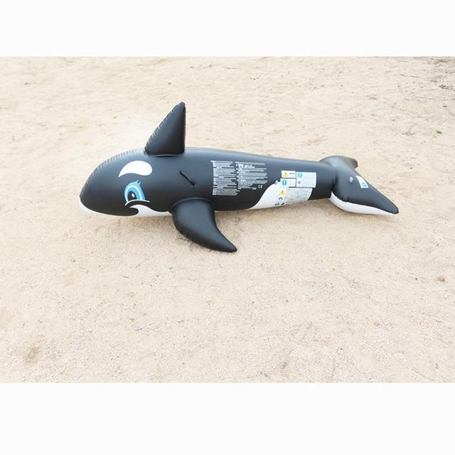 180x87x78cm inflatable animal whale rider seart kid water swimming pool toy summer beach play swim fun ring pool toy B40002