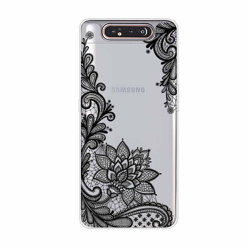 Dessin animé étui pour samsung A80 Étui Souple Housse de protection En Silicone Téléphone étui pour samsung Galaxy A80 GalaxyA80 Un 80 A805 SM-A805F A805F