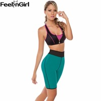Two Side Wear Slimming Body Shaper Hot Shapers Women Neoprene Control Panties Super Stretch Sweat Panties