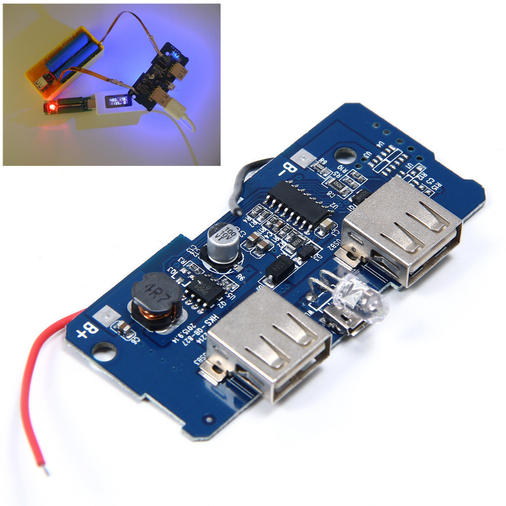 3pcs 5V 2A Power Bank Charger Board Step Up Boost Power ...