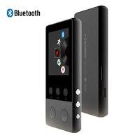 Metal Bluetooth MP3 Player 8GB 1 8 Inch Screen Hifi Music Play 70h With FM Radio