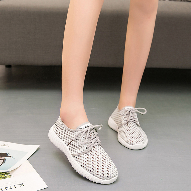 separation shoes ccb3e 00fee US $14.87 13% OFF|2018 Women's Shoes Presto Summer Basket Femme Chaussure  FeMale Shoes Air Mesh Trainers Ultras Boosts Shoes Girl Sneakers Shoes-in  ...