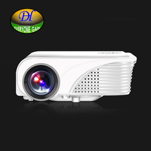 Everyone Gain Mini280w External Android Projector 3D Games Home Theater Proyector TFCard Short Focal Projector Built-in HIFI