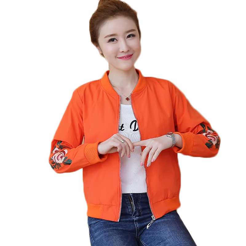 Women   Trench   Coats Spring New Print Hooded Short Thin Outerwear Middle-aged Mother Costume Double-faced Windbreaker Female Tops