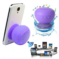 1pcs Bluetooth Speaker Mushroom Mini Wireless Bluetooth Speaker Waterproof Silicone Sucker Hands Free Speakers