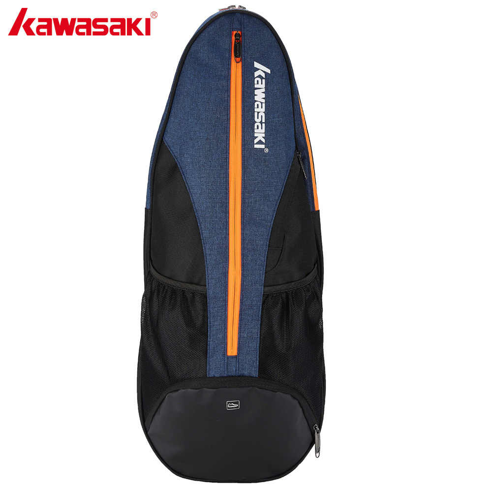 Kawasaki Big Racket Sport Bag Badminton Bag Multi-layer Placement Tennis Racket Dacron Shoulder Bag Honor Series KBB-8302