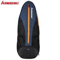 Kawasaki Großen Schläger Sport Tasche Badminton Tasche Multi-schicht Platzierung Tennis Schläger Dacron Schulter Tasche Honor Serie KBB-8302