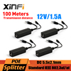 Xinfi 4pcs POE Adapter Injector Splitter Connector IEEE802 3af Active 10 100Mbps For IP Cameras VoIP