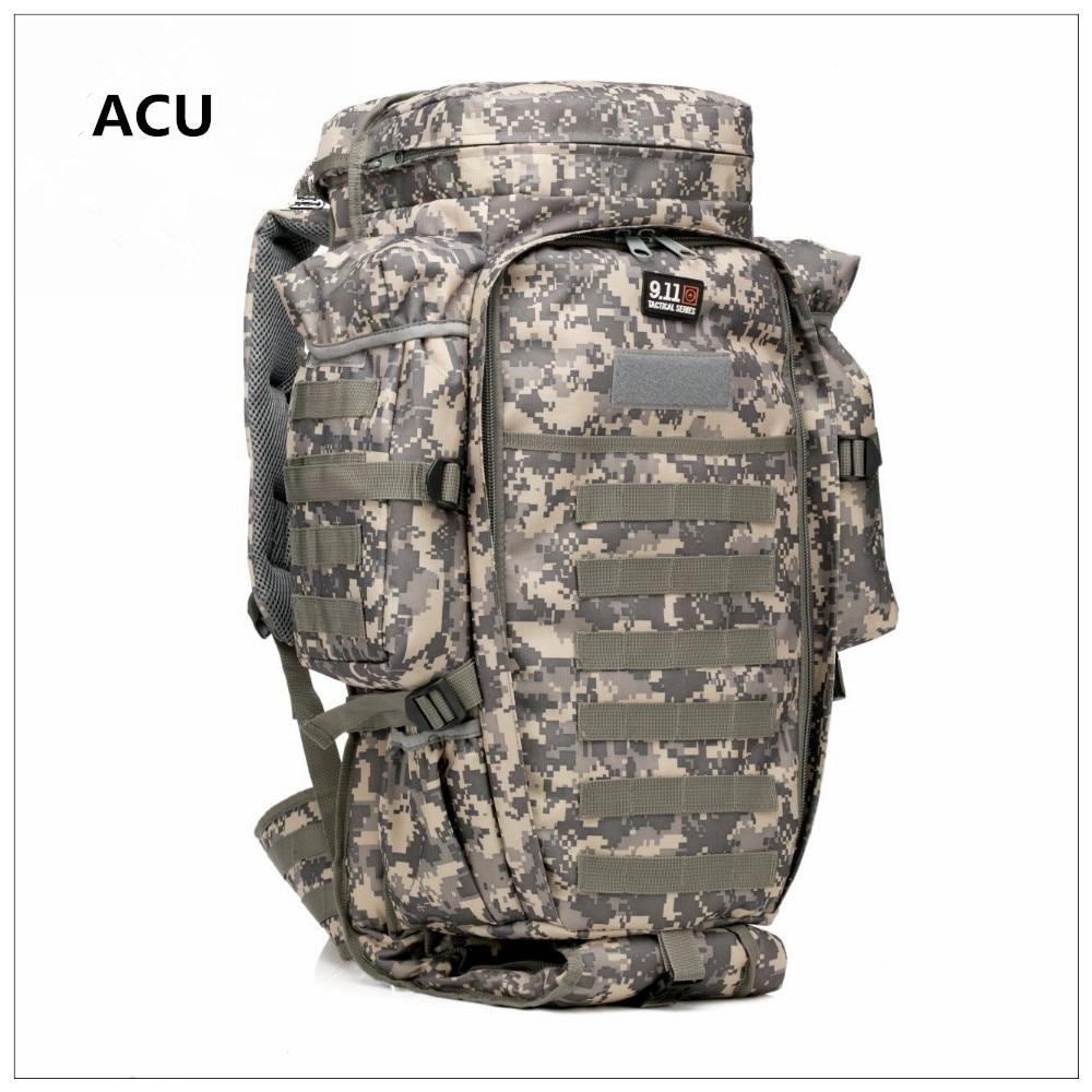 Airsoft sac multi-usage grand sac à dos tactique militaire sac à dos pour camping voyage jour Pack - 4
