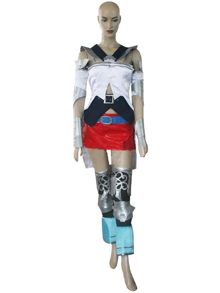 Hot Game Final Fantasy XII 12 Ashe font b Cosplay b font costume Halloween Christmas role