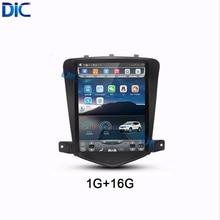 Android 6.0 GPS di navigazione per Auto multimedia player radio verticale dello schermo car audio wifi Per Chevrolet Cruze Holden 2009-2014