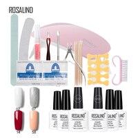 Rosalind Gel Polish Top Base Coat UV Gel Nail Art Polish Lacquer Varnish Frosted Nail Polish Primer Manicure Enamel Gel