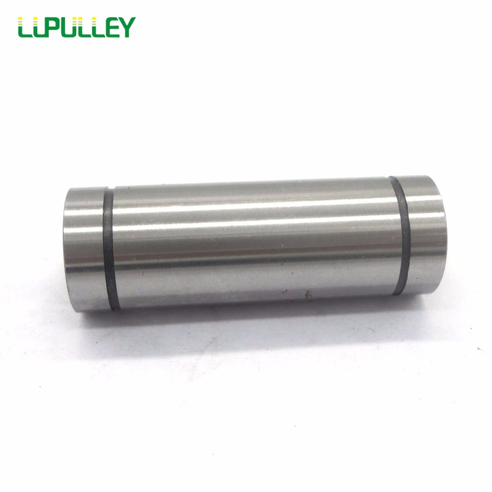 LUPULLEY Long Linear Motion Bearing Ball Bushing 35mm LM35LUU LM40LUU 40mm Linear Shaft for CNC 2pcs lm10luu long type 10mm linear motion ball bearing slide bushing for diy cnc parts for 10mm linear shaft