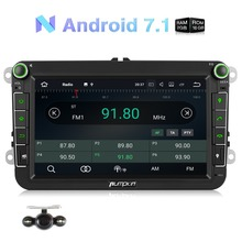 Pumpkin 2 Din 8''Android 7.1 RAM 2G ROM 16G Car Radio Stereo No DVD Player For VW/Skoda/Golf/Skoda GPS Navigation Wifi Headunit lsqstar 8 capacitive screen android car dvd player w gps wi fi 1gb ram 8gb flash for vw
