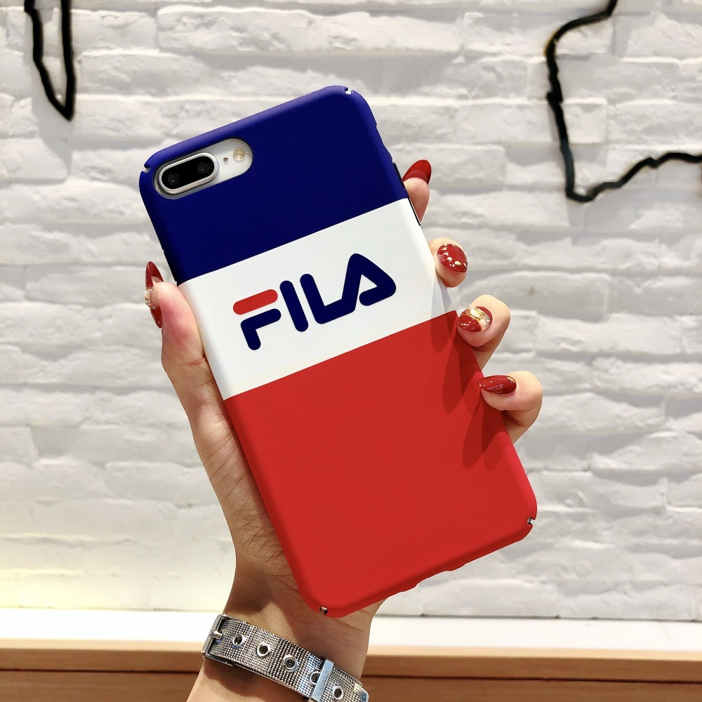 huge discount 93767 8edb7 FILA Phone Case iPhone 6 6s Plus 7 7 Plus 8 X XS XR