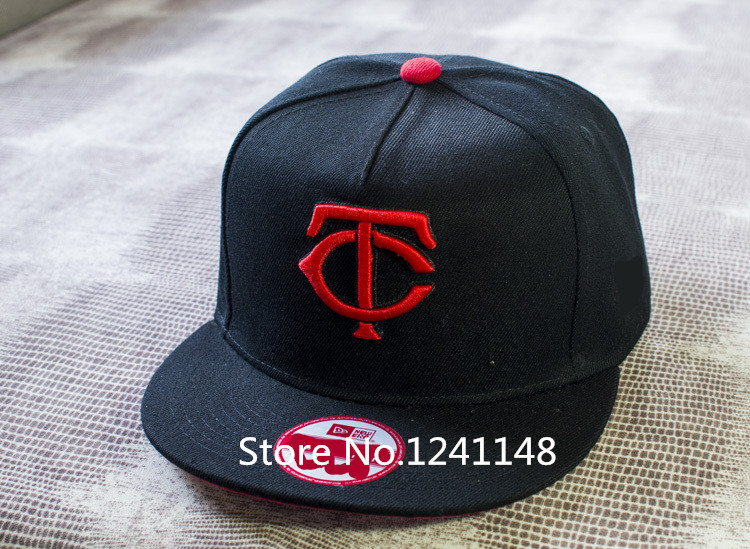 tc baseball hat men sport team embroidered print visor twins adjustable cap caps clothing accessories