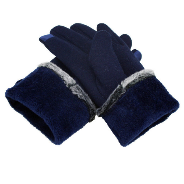 Fashion Lace Women Winter Gloves