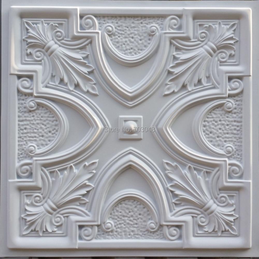 Online get cheap decorative ceiling tile for Gips decor ceiling
