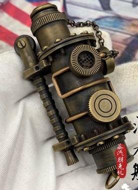 color-handmade-brass-Steampunk-Kerosene-Lighter-old-style-Retro-Vintage