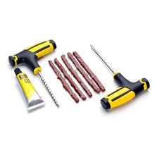 Bicycle Tire Repair Tool Car Tire Repair Kit Studding Tool Set Auto Bike Tubeless Tire Tyre Puncture Plug Garage Car Accessories(China)