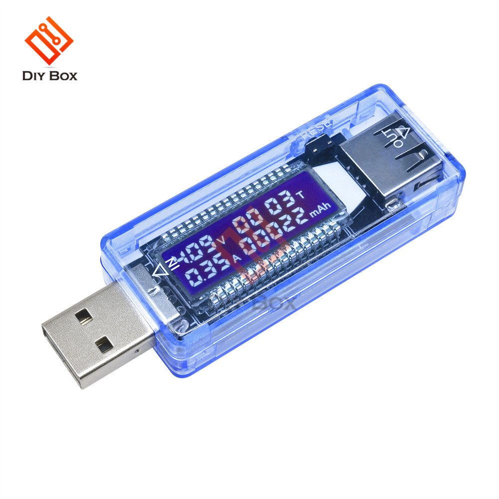 Multiple Models LED Digital Voltmeter Ammeter Current Voltage Meter USB Charger Doctor Car Motorcycle Volt Amp Detector Tester