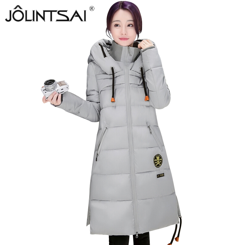 2017 New Winter Thickening Women Parkas Women's Wadded Jacket Outerwear Cotton-padded Jacket Ladies Medium-long Coat 2014 men cotton padded jacket winter jacket men wadded jacket outerwear medium long thickening male winter men coats parkas