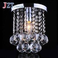 Z Beste preis Mini Moderne Kronleuchter Regen Tropfen Beleuchtung K9 Kristallkugel Leuchte Anhänger Deckenleuchte 1 FÜHRTE E12 Lampe enthalten
