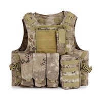 Airsoft Tactical Military Molle Vest Combat Assault Plate Carrier Vest CS Tactical vest