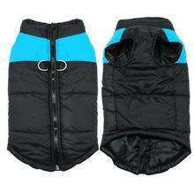 Winter Dog Jacket Coat Puppy Pet Parkas Vest Bulldog Clothes Waterproof Small Medium Large S-5XL