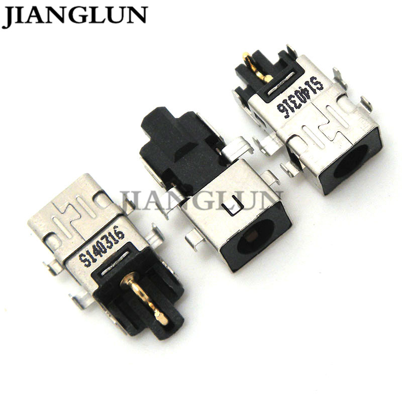 JIANGLUN 5X New DC Power Jack Connector Socket Plug For Asus Laptops