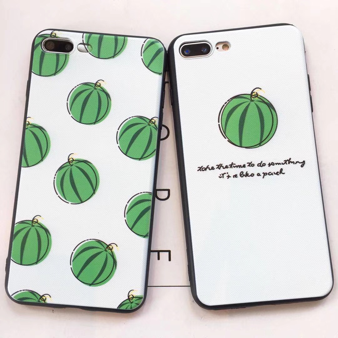 Summer Cool Stawberry Peach Watermelon Fruit Soft TPU Case For VIVO V5 Plus X7 X7 Plus X9 X9s Plus X20 X20 Plus X21 X21 UD Cover