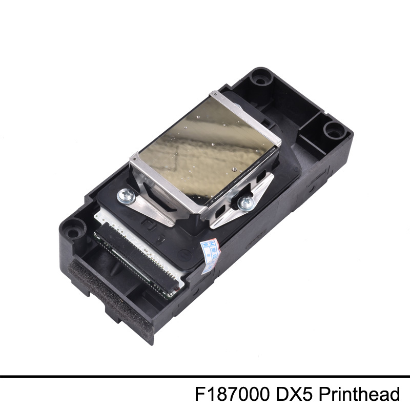 F187000 DX5 For Epson 4880 7880 9880 Gold Surface DX5 no encryption print head new original print head printhead compatible for epson 4880 7880 9880 7450 9450 f187000 dx5 gold surface unlocked