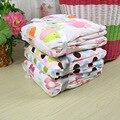 2016 Cobertores Do Bebê Panos Swaddle Bebê Recém-nascido 100% Algodão Conjunto de Cama Cobertor de Flanela Dos Desenhos Animados Do Bebê Toalha Macia 76*102 CM
