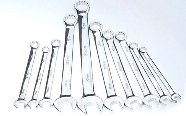 Бесплатная доставка БОСИ 10шт набор гаечных ключей (8мм 9мм 10мм 11мм 12мм 14мм 15мм 17мм 19мм 22мм)