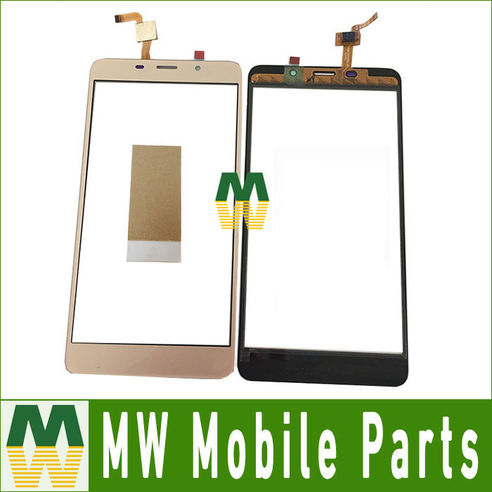1PC/Lot 5.7For LEAGOO M8 Touch Screen Digitizer Replacement Part With tape Black White Gold Color
