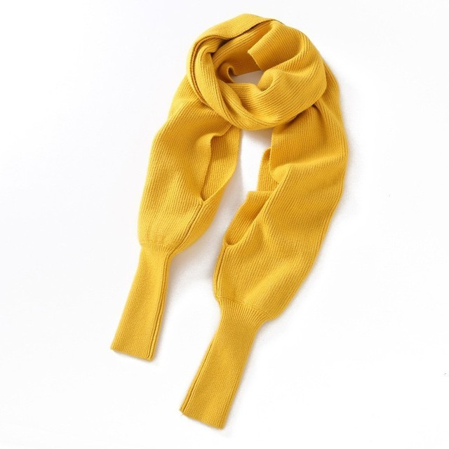 Sweater Scarf - 4 Colors 2