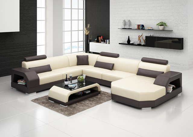New design leather recliner modern sofa set G8001-in