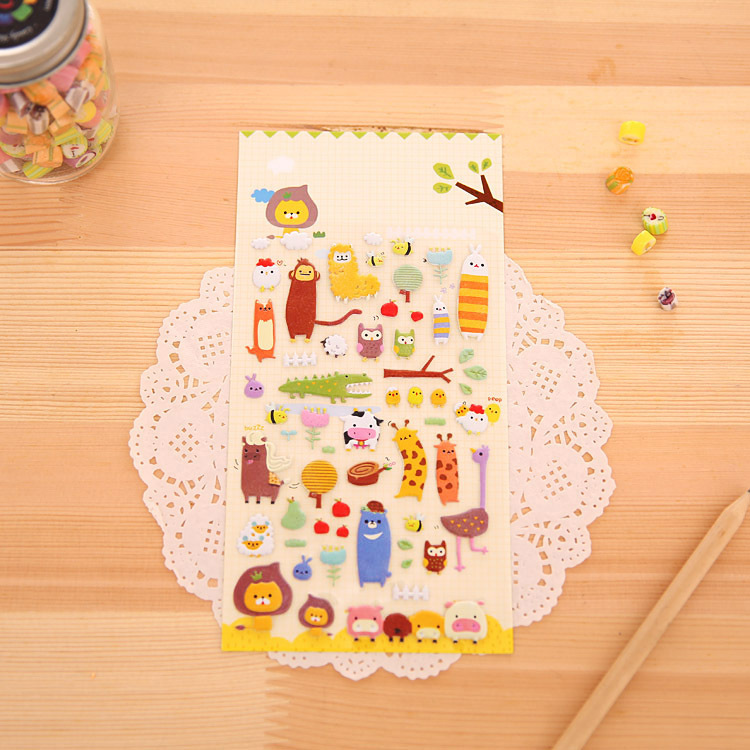 South Korea stationery wholesale lovely animal man...