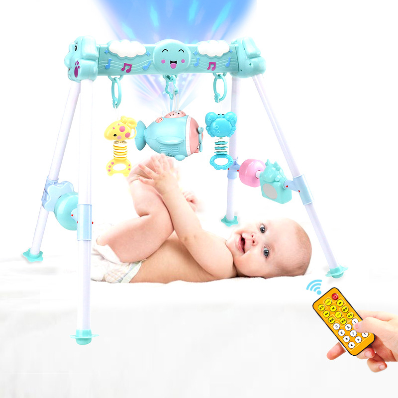 Baby Play Gym Toys Early Childhood Games Baby Cartoon Toys Activity Infant Toys Sports Playmat Educational Rack Gym 0-12Months