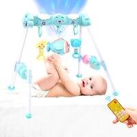 Baby Play Gym Juguetes Primera Infancia Juegos Juguetes de Dibujos Animados Bebé Playmat Actividad Infantil Deportes Juguetes Educativos Estante Gimnasio 0-12Months